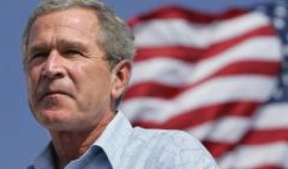 Буш: Най-развитите държави ще работят заедно срещу кредитната криза