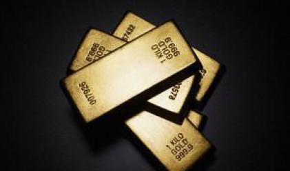 Златото отново над 1000 долара за тройунция