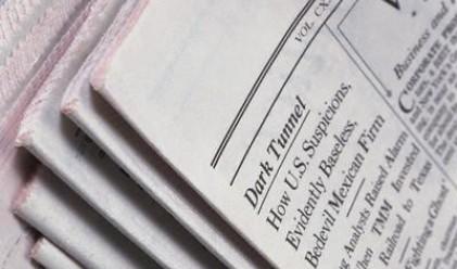Тиражът на вестниците в САЩ пада с 10.6%