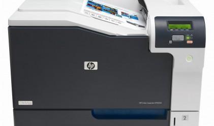 Околната среда - акцент при лазерните принтери на HP