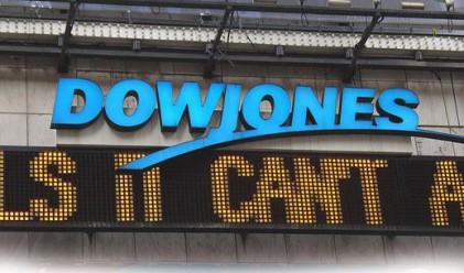 Dow с най-голямото си понижение от месец