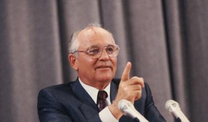 М. Горбачов: Живков направи много за България