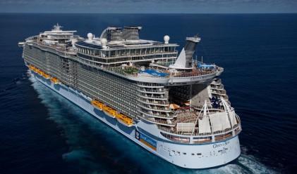 Най-големият кораб в света е вече по вода