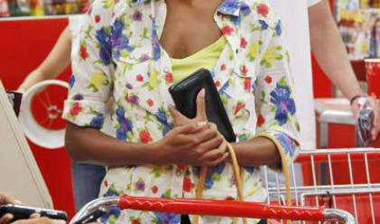 Мишел Обама инкогнито на опашка в супермаркет