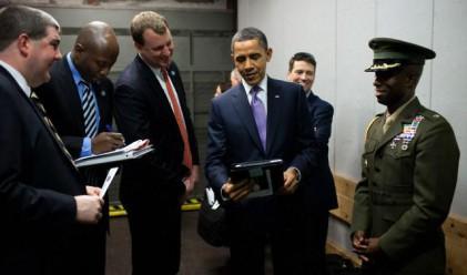 Обама има iPad-личен подарък от Стив Джобс