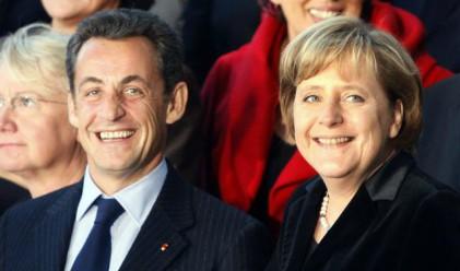Меркел и Саркози обещаха рекапитализация на банките