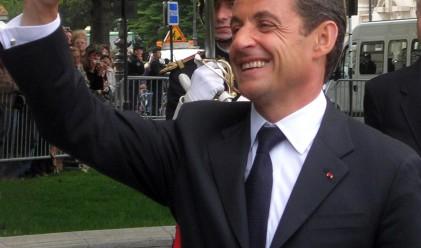 Саркози пропусна да плати сметката си в бар