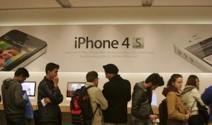 Apple продаде 4 млн. телефона iPhone 4S през уикенда