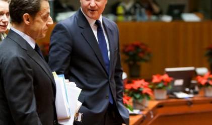 Саркози скастрил Камерън да си мълчи за еврото
