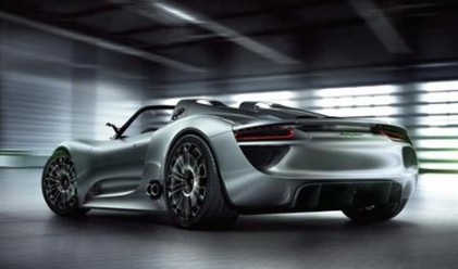 Porsche пусна златен суперавтомобил
