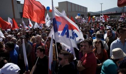 Стотици арестувани след протести в Атина