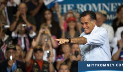 Ромни се изравни с Обама