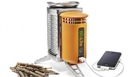 Печка на дърва с USB