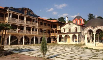Включиха пътя до Гигинския манастир към общинските пътища