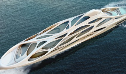 Заха Хадид проектира луксозна яхта