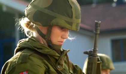 Норвегия въведе задължителна военна служба за жените