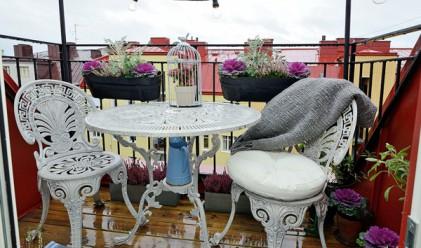 Живот на 50 квадрата: светъл апартамент с тераса