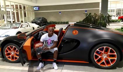 Кой спортист си купи кола за 3.5 млн. долара