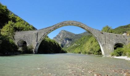 Това беше един от най-забележителните мостове в Гърция