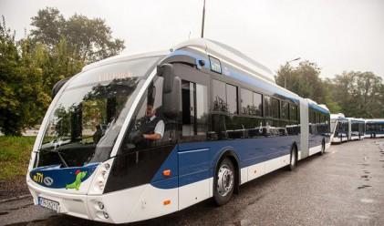 Бургас модернизира градския си транспорт със 7 нови автобуса