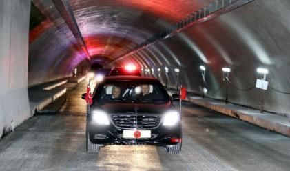 Ердоган направи първа обиколка на тунела под Босфора