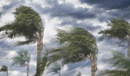 Да летиш през ураган: вижте стихията Матю отвътре