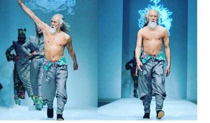 Как изглежда най-горещият дядо в Китай?