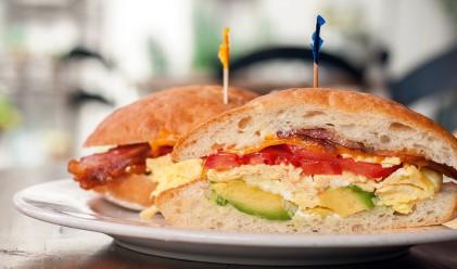 От какво е направен най-високият сандвич в света?