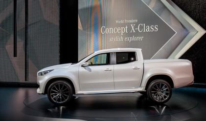 Mercedes пуска на пазара луксозен пикап