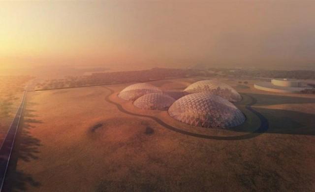 Дубай строи симулатор на марсиански град