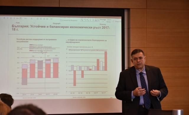 Устойчив и балансиран икономически ръст очаква България