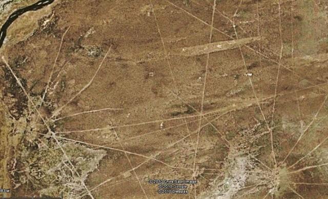 Тайнствените линии на Сахама в Боливия