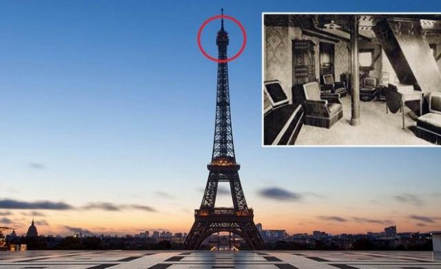 Историята на тайната стая в Айфеловата кула