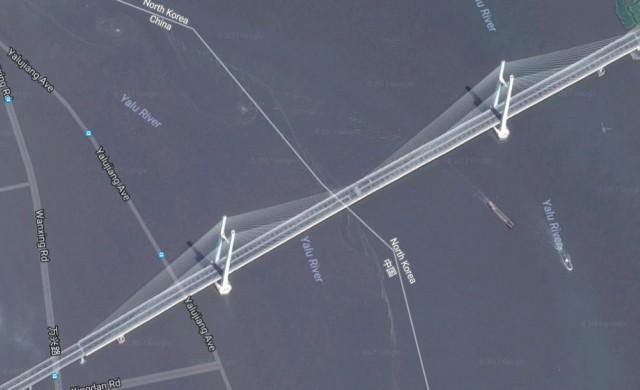 Китай построи скъп мост, който свършва в нищото в Северна Корея