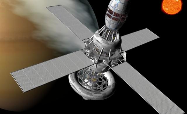 САЩ и Русия - противници на Земята, съдружници в Космоса