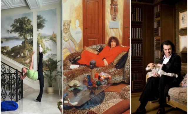 Луксозните имоти на пет руски знаменитости