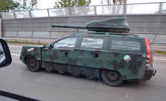Швед трансформира Volvo-то си в танк
