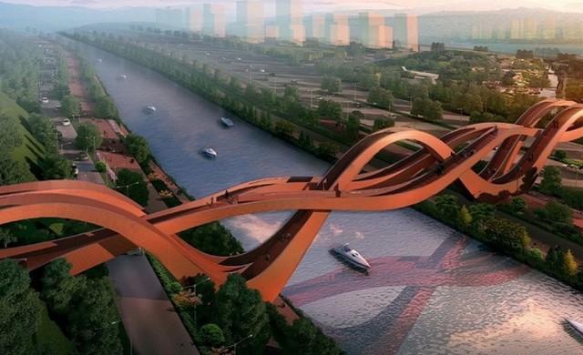 Това са най-красивите пешеходни мостове в света