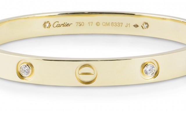 10 неща, които не знаехте за гривната на Cartier Love