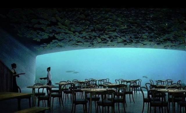 Първият подводен ресторант в Европа вече прави резервации