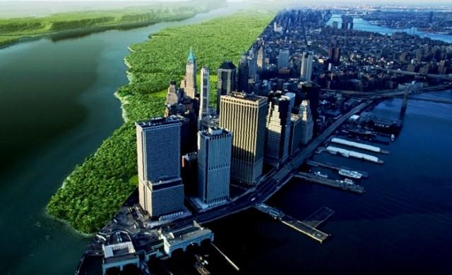 Как е изглеждал Манхатън преди небостъргачите?