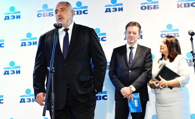 Борисов откри офис на KBC Груп във Варна с 300 нови работни места