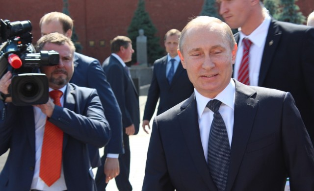 Владимир Путин на 67 години