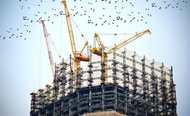 Близо 9% ръст на сградното строителство