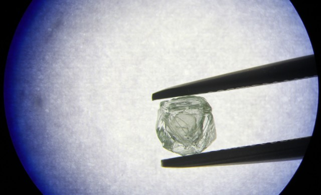 В Сибир откриха уникален диамант в друг диамант