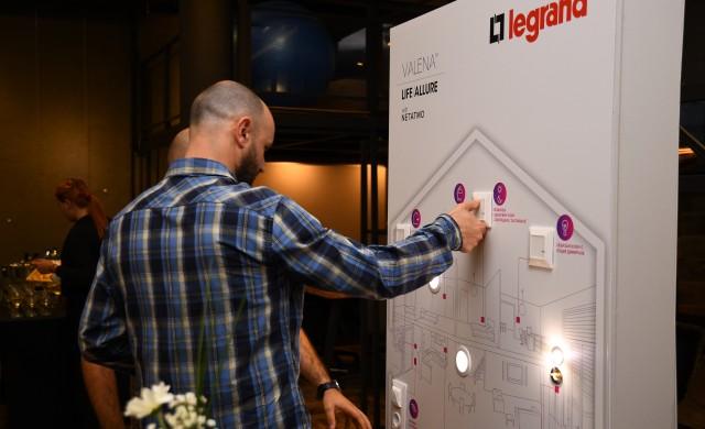 Legrand България с иновативна серия продукти за свързан дом