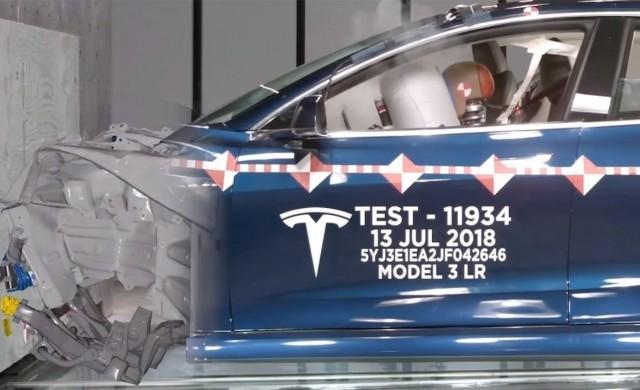 Лабораторията на Tesla за краш тестове