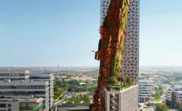 Тази кула е най-високата сграда в Чехия