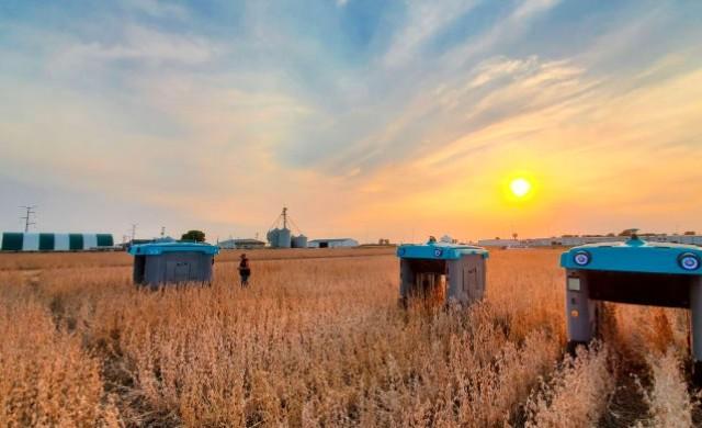 Alphabet изпробва бъгита на слънчева енергия, които да инспектират посевите