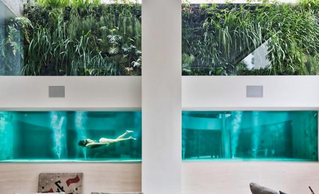 Десет невероятни дизайнерски басейна